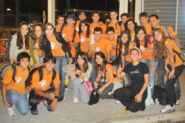 Participantes do programa de High School na Nova Zelândia